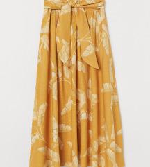H&M sárga virágos szoknya