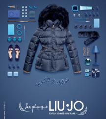 Liu Jo fekete toll kabát