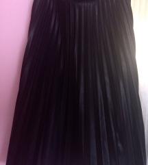 Orsay műbőr pliszírozott szoknya
