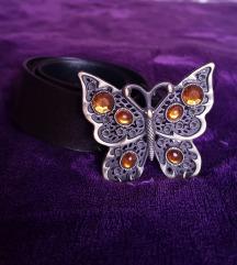 Pillangós barna öv