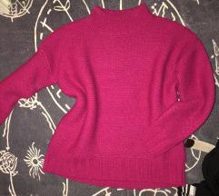 rozsaszin kötött pulover
