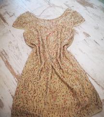 Handmade bézs gyöngy ruha