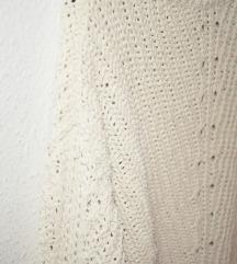 fehér pulóver L-es