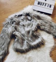 Szőrme kabát M Új 💗