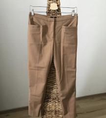 H&M caramell színű elegáns nadrág