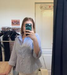 Fehér-kék ing