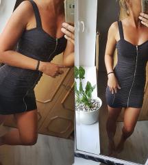 Fekete Zippes miniruha
