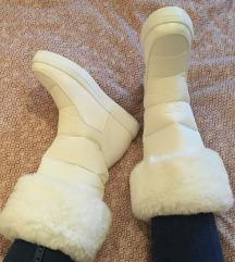 Új fehér csizma