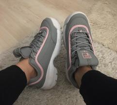 Fila disruptor grey/pink
