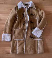 Barna irha kabát