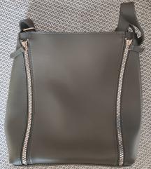 Pepco khaki cipzáros táska