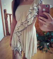 Vajszínű alkalmi ruha