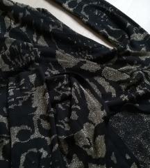 arany fekete vintage kardigán