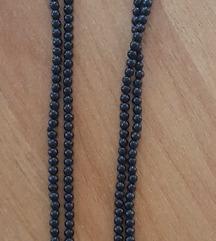 Újsz. hosszú fekete nyaklánc szuper áron!