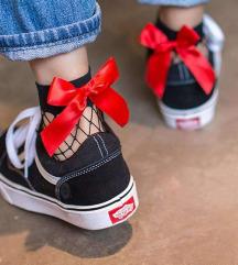Piros masnis zokni