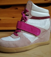 Catwalk wedge sneaker