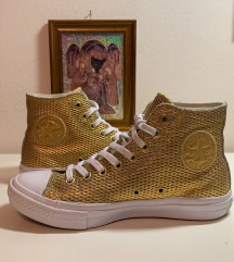 Arany Bőr Converse