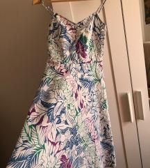 H&M viragmintás 36-os nyári ruha