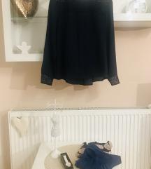 Munka-kék szett: nadrág, blúzok