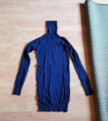 Sötétkék kötött ruha