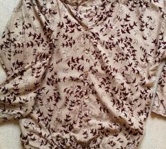 38-as nude madárkás felső ing