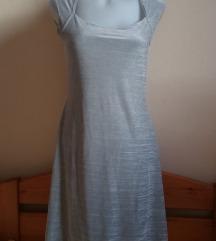Orsay fényes szürke ruha, L-es