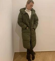 Zara hosszú, téli kabát