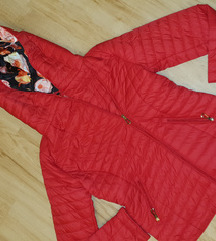Meggypiros gyönyörű új olasz kabát