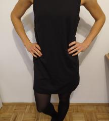 fekete ujjatlan ruha (H&M)