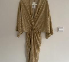 CIMKÉS ASOSról rendelt arany kimono ruha