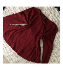 H&M bordó pulóver