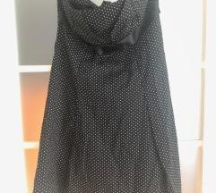 Pöttyös vintage ruha