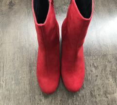 Eladó új piros csizma