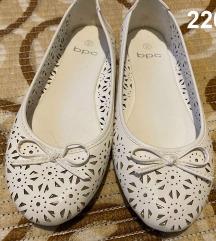 Fehér balerina cipő (sosem viselt)