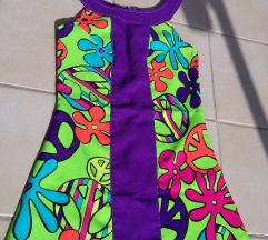 Virágos, mintás ruha S-M