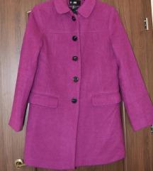 H&M ciklámen kabát