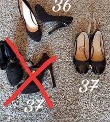 Magas-lapos cipők 36,37