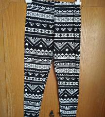Azték mintázatú vékony leggings!