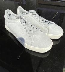 H&M pasztell türkiz cipő