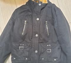 Fekete őszi kabát