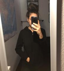 Cipzáros kapucnis pulóver
