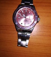 Rózsaszín Rolex (replika) óra