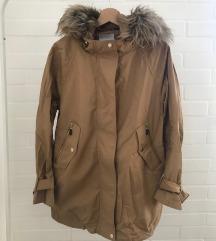 ÚJ sötétbézs MANGÓ kabát