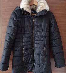 Reserved fekete tèli kabát, S