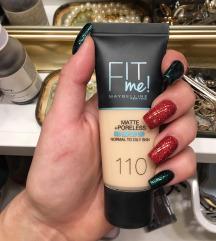 Maybelline Fit Me alapozó | 101