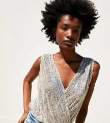 Zara ezüst body