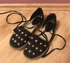 Fekete nyári cipő