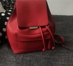 Zara piros hátizsák