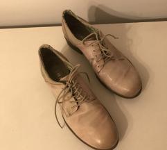 Púderrózsaszín bőr átmeneti cipő (37)