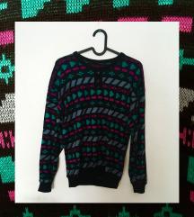 vintage színes pulcsi